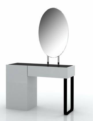 Как его только не называют. и туалетный столик с зеркалом, и косметический столик, и столик трюмо, и трюмо с